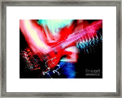Bass Guitar 1 Framed Print by Jason D Rogers