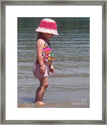 Bass Lake Baby Framed Print by Catherine DeHart