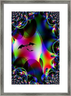 Bat Cave Framed Print by Maria Urso