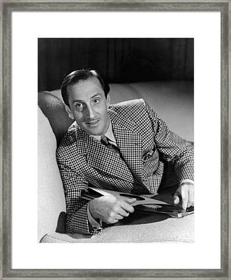 Bathing Beauty, Basil Rathbone, 1944 Framed Print by Everett