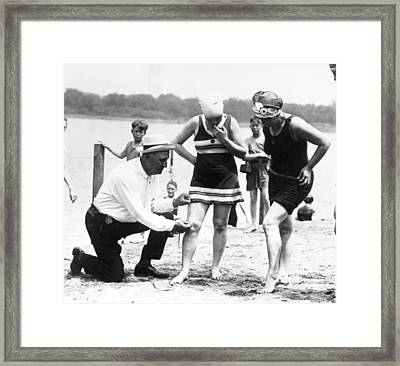 Bathing Suits, 1922 Framed Print by Granger