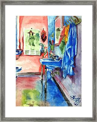 Bathroom Framed Print by Mike N
