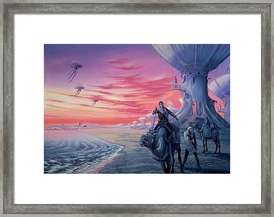 Battle At Dawn Framed Print
