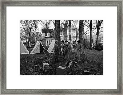 Battle Done Framed Print by Paul Mashburn
