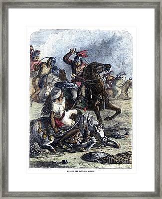 Battle Of Assaye, 1803 Framed Print by Granger