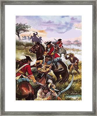 Battle Of Sedgemoor Framed Print