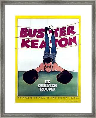 Battling Butler, Aka Le Dernier Round Framed Print by Everett
