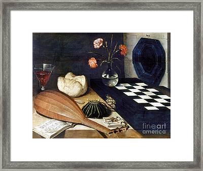 Baugin: Still Life Framed Print by Granger