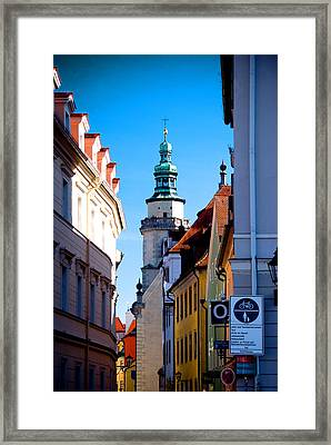 Bavarian Corridor  Framed Print by Anthony Citro