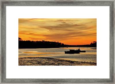 Bay Beauty Framed Print