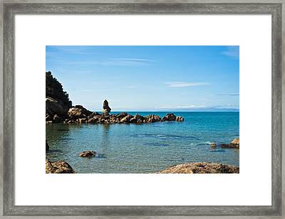 Bay Guardian Framed Print by Graeme Knox