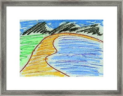 Bay Framed Print by Hakon Soreide