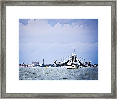 Bay Harvest Framed Print by Donni Mac