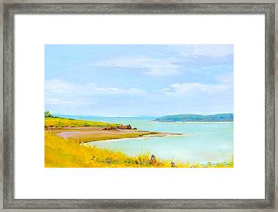 Bay Of Fundy From Eastport Framed Print
