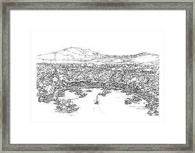 Bayfront Framed Print by Andrew Drozdowicz