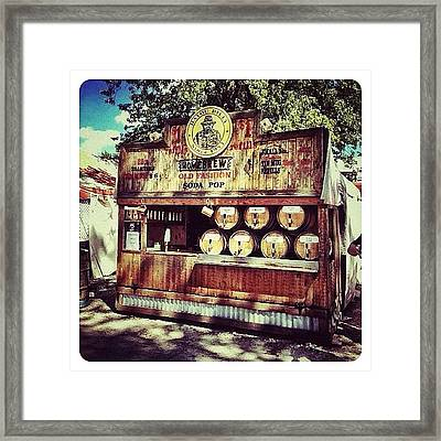 Bayou Billy's Home Brew Framed Print