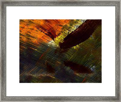Bayou Mud Framed Print by Kimanthi Toure