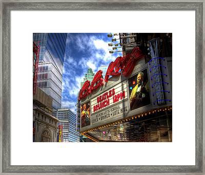 Bb Kings Place Framed Print by Joe Paniccia