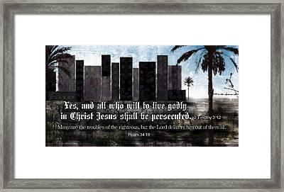 Be Advised Framed Print by Greg Long
