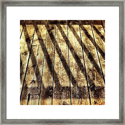 Be Careful Which Line You Follow Framed Print