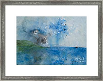 Be Still And Know Framed Print by Barbara McNeil