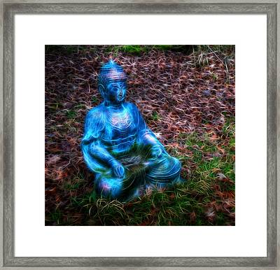 Framed Print featuring the photograph Be Still by Joetta West