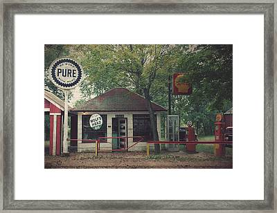 Be Sure With Pure Framed Print