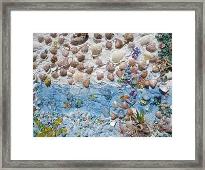 Framed Print featuring the photograph Beach by Beto Machado