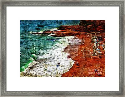 Beach Fantasy Framed Print by Madeline Ellis