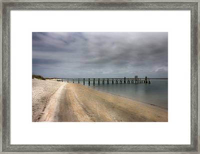Beach Getaway Framed Print by Betsy Knapp