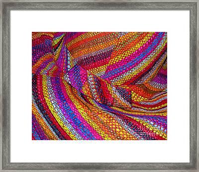 Beach Hat Framed Print by Judi Bagwell
