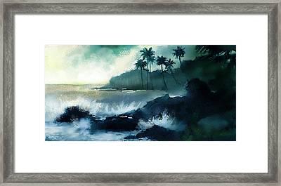 Beach  Framed Print by Kiran Kumar