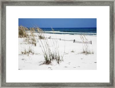 Beach No. 5 Framed Print by Toni Hopper