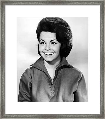 Beach Party, Annette Funicello, 1963 Framed Print