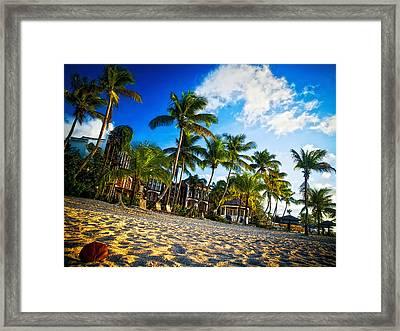 Beach Rendezvous Framed Print