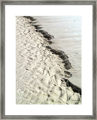 Beach Sand Framed Print