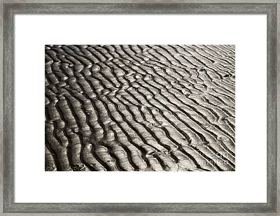 Framed Print featuring the photograph Beach Sands by Fotosas Photography