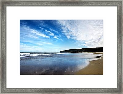 Beach Framed Print by Svetlana Sewell