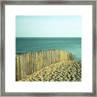 Beach Framed Print by SylvainCollet