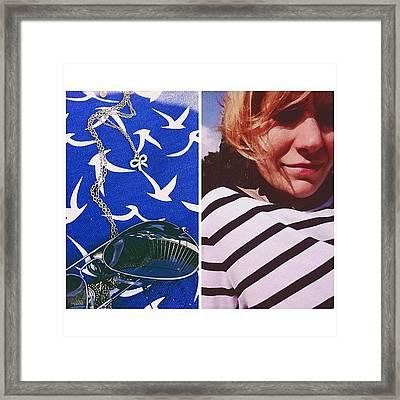 Beach-time Framed Print
