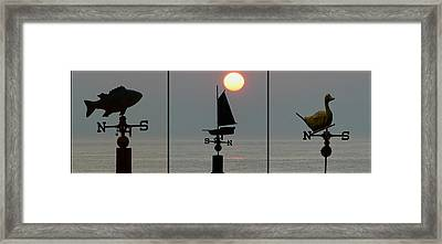 Beach Weather Framed Print by Bill Cannon
