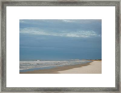 Beach1 Framed Print by De Behr