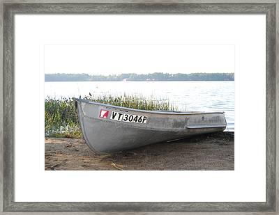 Beached Framed Print by Jennifer Powers