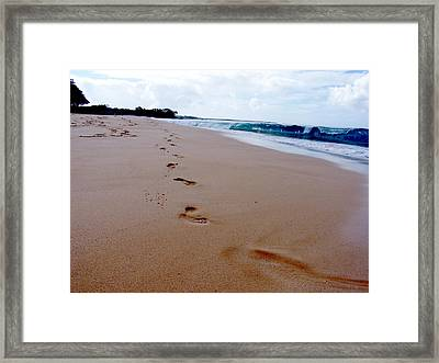 Beaches 04 Framed Print by Earl Bowser