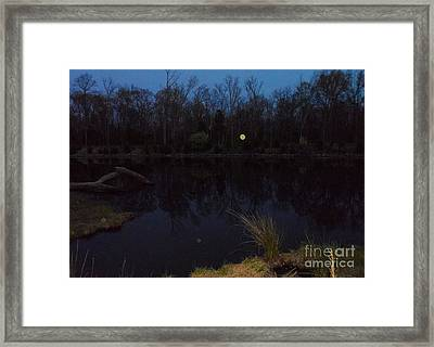 Beacon Beckons Framed Print by Doug Kean