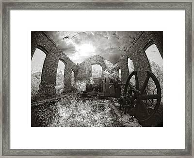 Beacon Hill Framed Print by Steve Zimic