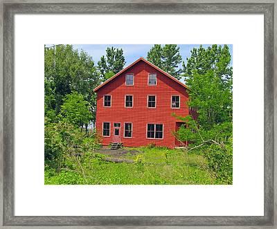 Beacon Red House Framed Print