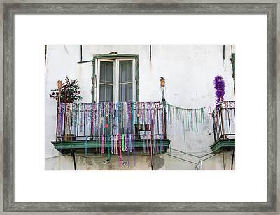 Bead The Porch Framed Print