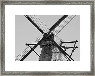 Beams Framed Print