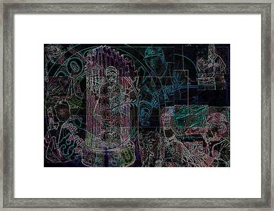 Bean Town V3 Framed Print by Jimi Bush